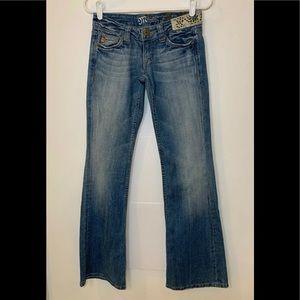 Miss Me Embellished Size 26 Jeans Blue Cotton